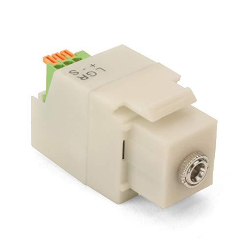 Choice Select Keystone Socket 1/8 Inch Stereo Mini Plug, ()