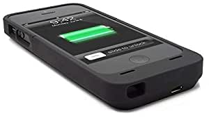 2200mah Black External Rechargeable Battery Power Bank Cover Case for Apple iphone 5