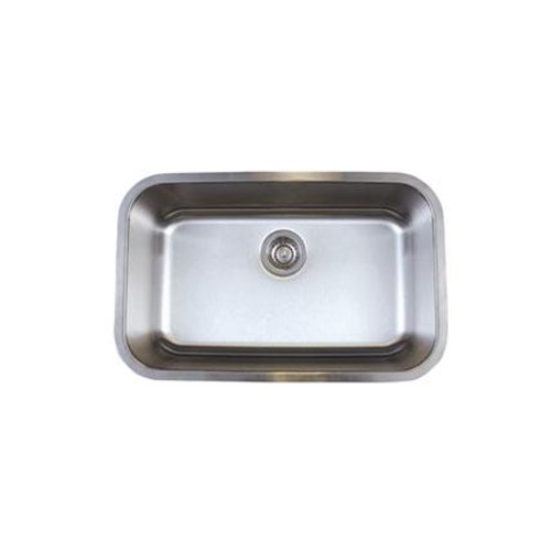 - Blanco BL441024 Stellar Super Single Bowl Undermount Sink, Refined Brushed