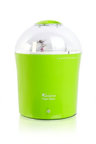 Euro Cuisine YM360 Yogurt & Greek Yogurt Maker with 2 Quarts Glass Jar, Green (Dash Green Yogurt Maker compare prices)