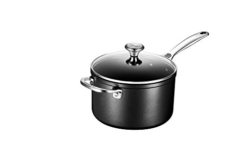 Le Creuset of America Toughened NonStick Saucepan with Lid, 4 quart by Le Creuset