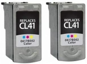 CL-41 0617B001/_2PK 2//PK-312 Page Yield SuppliesMAX Compatible Replacement for Canon PIXMA iP-1200//1800//1900//MP-140//190//310//470 Tri-Color Inkjet