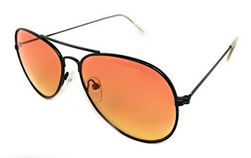 My Shades - Little Children's Kids Classic Retro Aviator Sunglasses Metal Frame Ages 2 to 5 (Two Tone, - Cute Glasses Really