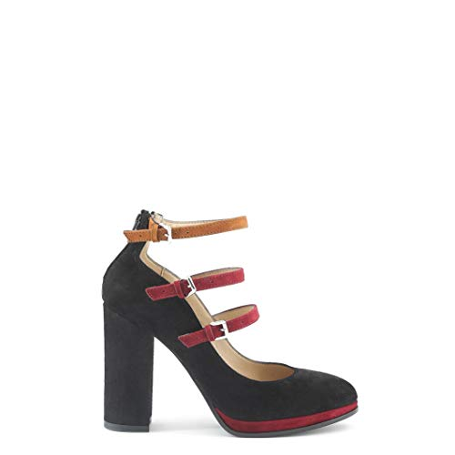 Donna Da Italia Sala In Made Nero Shoes gpvwq