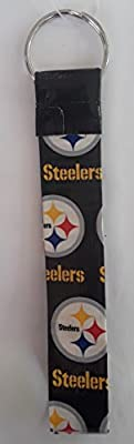 Pittsburgh Steelers NFL Duct Tape Key Chain Wristlet