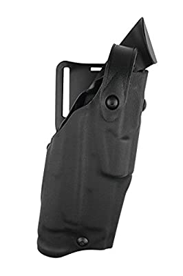 Safariland 6360 Level III ALS Retention Duty Holster, Mid-Ride, Black, STX Tactical, Glock 20, 21 with ITI Streamlight M3 Light