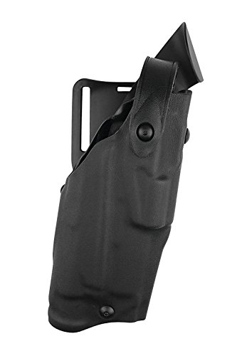 Als Holster (Safariland 6360 Level 3 Retention ALS Duty Holster, Mid-Ride, Black, STX Fine Tac, Glock 22 with M3, Right Hand)