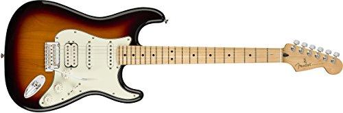 Fender Player Stratocaster Electric Guitar   Maple Fingerboard   3 Color Sunburst