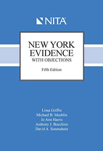 New York Evidence With Objections (NITA)