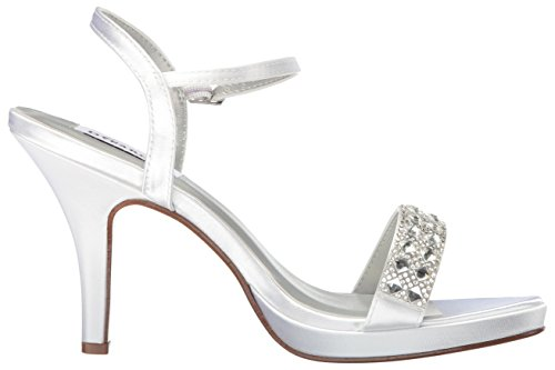 Inc Sandal White Womens Dress Dyeables Sloane Women Platform q8ZnYUd