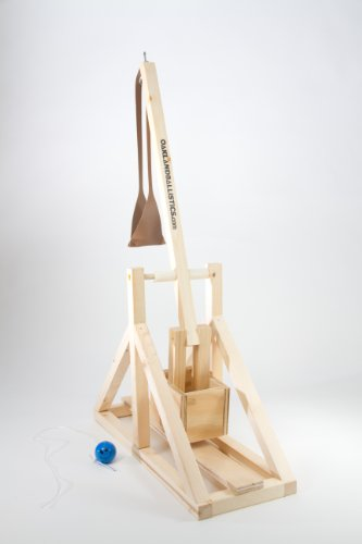 Wooden Trebuchet Kit by Oakland Ballistics