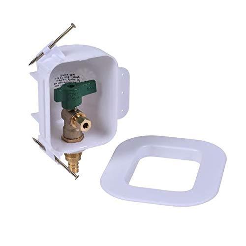 Oatey 39136 I2K 1//4 F1807 Low Lead Ice Maker Outlet Box w//o Hammer Pack of 12 pcs
