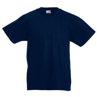 New Fruit of the Loom Childrens Kids Value Cotton T Shirt