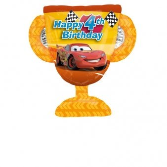Disney Cars Balloons (Disney Cars Happy 4th Birthday 26