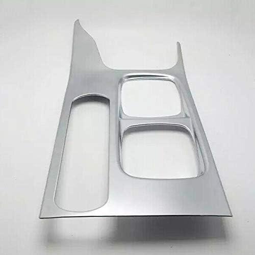 PQZATX ABS Silber Auto Wasser Cup Halter Abdeckung Trim Central Control Cup Halter Abdeckung f/ür Vitara Escudo 2015-2019