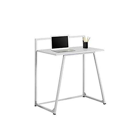 Monarch Metal Computer Desk, White, 30