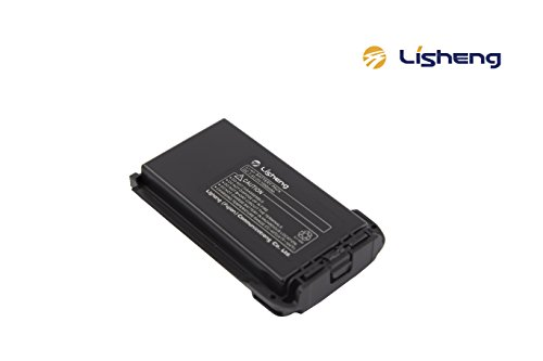 LISHENG BT-A5 Li-Poly Battery DC 7.4V 1550mAh Replacment Battery for LS-A5 Walkie Talkies Rechargeable Battery (Black, 1 Pack)