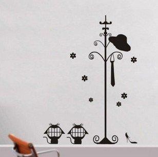 Vinilo decorativo pegatina pared, cristal, puerta (Varios colores a elegir) perchero