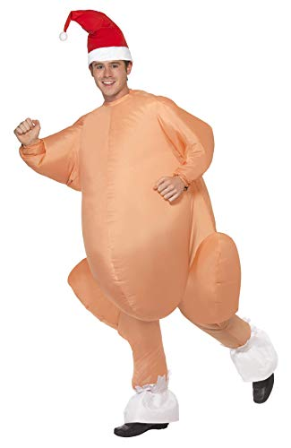 Inflatable Turkey Adult Costume - One Size -