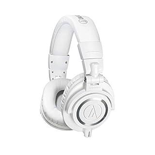 Audio-Technica ATH-M50xWH Professional Headphones - White (B00HVLURL8) | Amazon Products