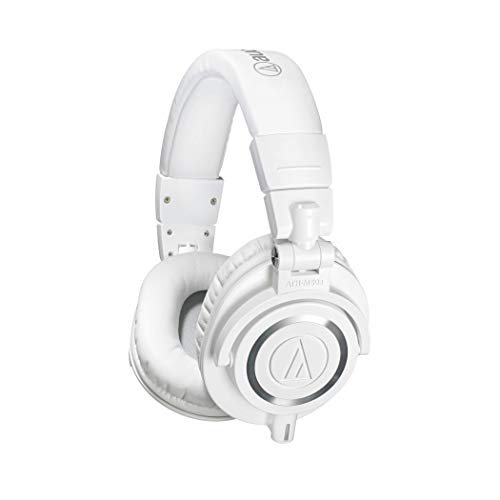 Audio Technica ATH M50XWH Professional Studio Monitor Headphones