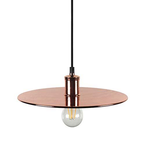 Metcandy Nordic Frisbee Chandelier Modern Minimalist bar Restaurant Bedroom Plating Iron Pendant Light