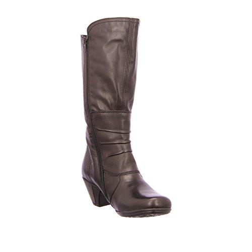 Remonte Dorndorf D1295-01 - Botas de Piel para mujer Negro - negro