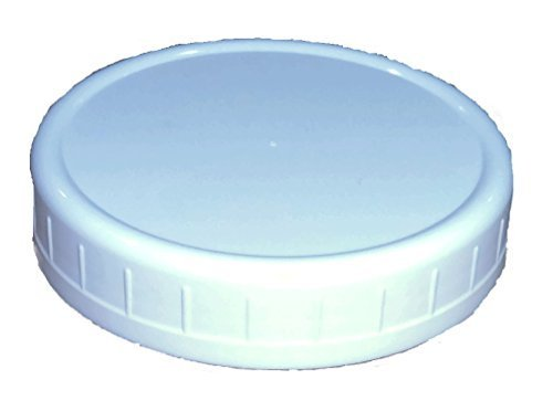 Wide-Mouth Reusable Plastic Lids for Canning Jars, 8 Count, Mainstays (3.62