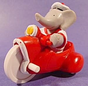 1990-cousin-arther-from-babar-world-tour-on-trike-elephant-arbys-vintage-toy