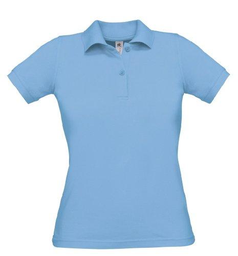 Safran Ladies Polo, Farbe:Sky Blue;Größe:S