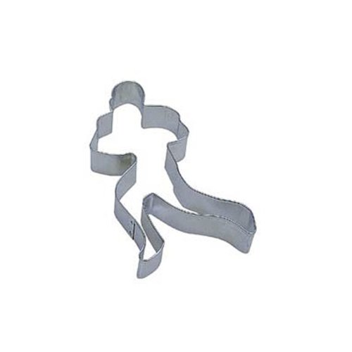 Dress My Cupcake DMC41CC1397 Football Player Cookie Cutter, 4.5-Inch