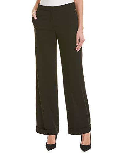 Reiss Womens Trae Wide-Leg Wool Trouser, 10, Black ()