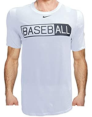 Men's Baseball T-Shirt, 100% Cotton