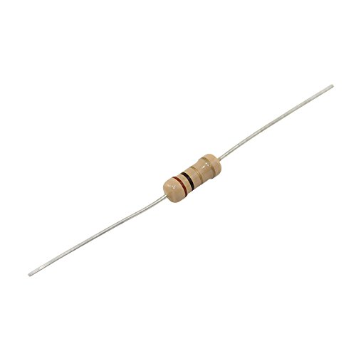MULTICOMP MCCFR0W8J0100A20 10 Ohm Resistor, Carbon Film, 125mW, ±5% (Pack of 1) ()