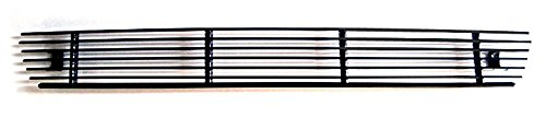 MaxMate Fits 04-05 Ford F-150 Replacement Lower Bumper 1PC Horizontal Billet Black Powder Coated Aluminum Grille Grill - Billet Aluminum Grills Replacement