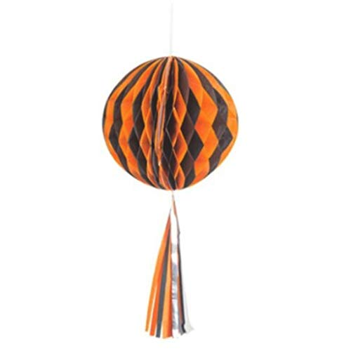 Kiar Halloween Party Honeycomb Ball Paper Flower Ball Lantern Funny Hanging Decor USA