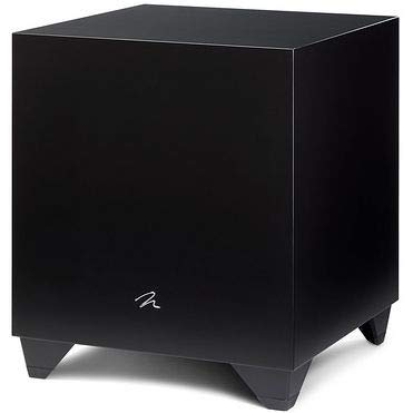 MartinLogan Dynamo 1100 X 12-inch 500 Watt Powered Subwoofer with Sub Control App - Black -
