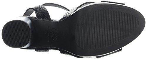 Tacco Nero Obscene New A Col Cinturino Donna black Con Look 01 Scarpe T I1RfxR6