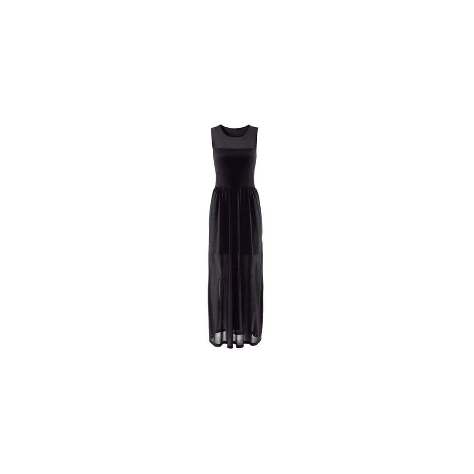 WIIPU Womens sleeveless floor length dress split in sides(WP 154)   XXLarge