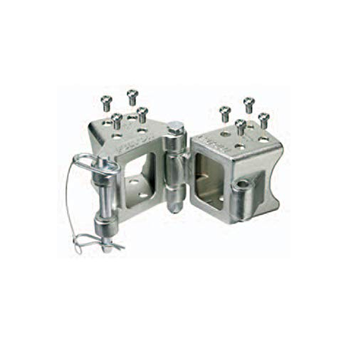 """Fulton HDPB350101 Fold-Away Bolt-On Hinge Kit for 3"""" x 5"""" Trailer Beam - up to 9,000 lb. GTW"""
