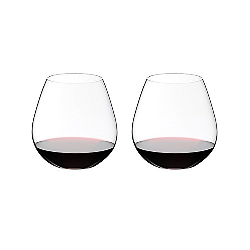 Riedel O Wine Tumbler Pinot Noir/Nebbiolo, Set of 2 (Best Wine Glass For Pinot Noir)