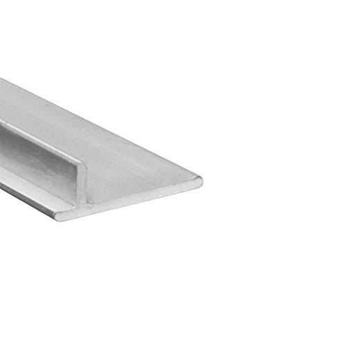 Screen Door Repair Track - Sliding Patio Door, Anodized Aluminum - 6 feet (72 inches)