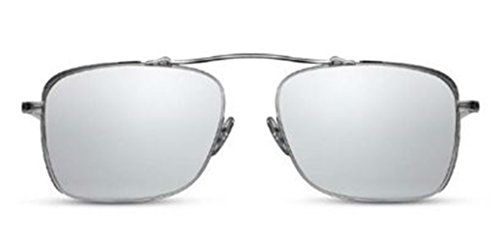 2854203132 Matsuda - M3047 - BS-MBK.SG - Brushed Silver Matte Black - Silver -  Sunglasses
