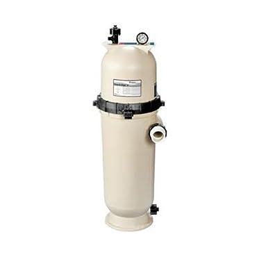 Pentair 160355 Clean & Clear RP Fiberglass Reinforced Polypropylene Tank Cartridge Pool Filter, 150 sq. ft., 150 GPM