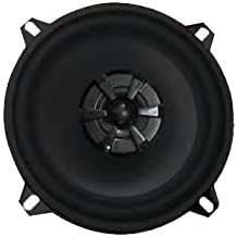 Audiobahn AMS525H 5-1/4 Inches 2-Way Murdered Out Series Coaxial Car Speakers