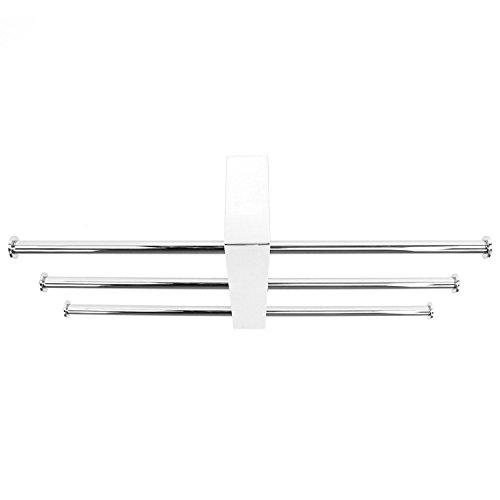 Nameeks 7630-13 15.98-Inch Bridge Rack Towel Bar, Chrome