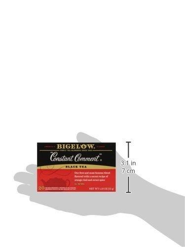 Bigelow Constant Comment Tea, 20-Count Boxes (Pack of 1)