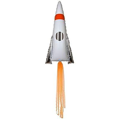 Meri Meri Space Rocket Jumbo Foil Balloon: Toys & Games