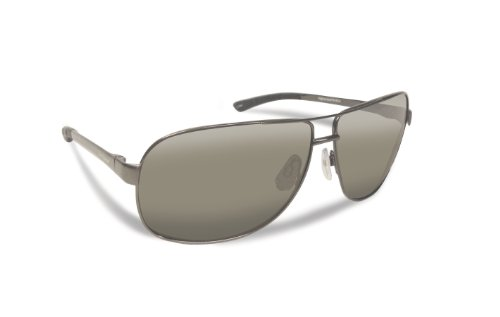 Gunmetal Frame (Flying Fisherman 7816GS Highlander Polarized Sunglasses, Gunmetal Frame, Smoke Lens)