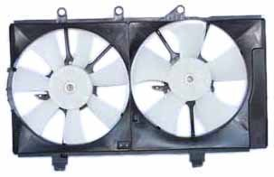 TYC 620820 Dodge Neon Replacement Radiator/Condenser Cooling Fan Assembly ()